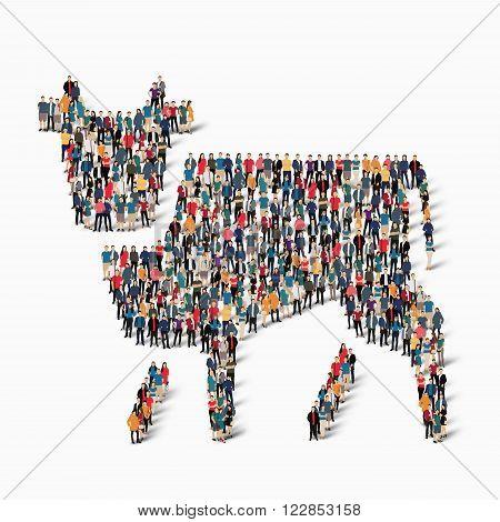cow icon  ,  cow  icon illustration , people icon illustration ,  cow icon art , cow art ,  people web icon , cow web icon