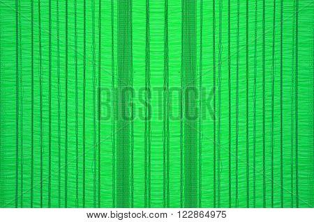 close up Green sun shading net texture
