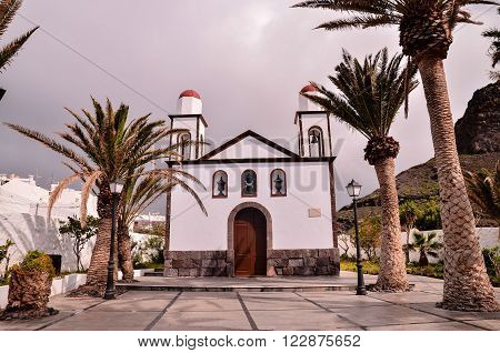 Old Vintage Catholic Church Virgen de las Nieves