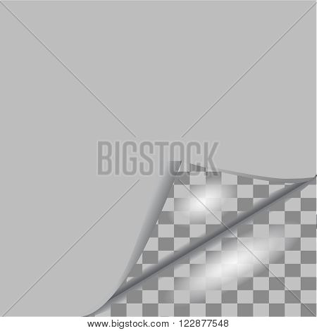 Page curl with shadow,sheet, sign, space, sticker, tag, transparent, turn,