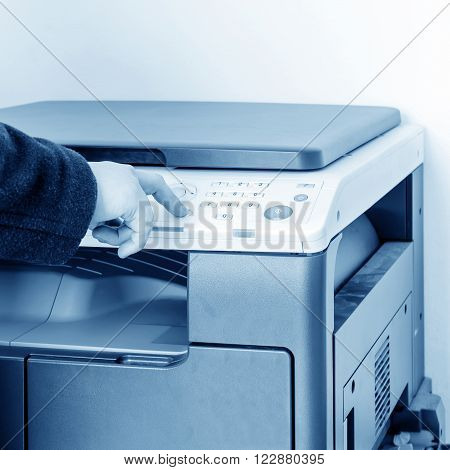 They are used office supplies copiers woman