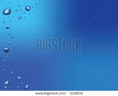 Waterdrop Background