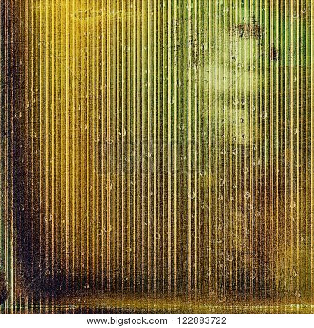 Tinted vintage texture, aged decorative grunge background. With different color patterns: green; yellow (beige); brown; gray