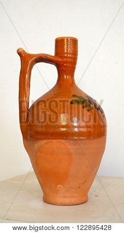 Picture of a Traditional macedonian pottery. Kitchen ware.
