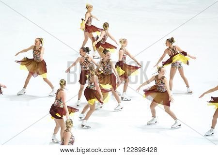 Team Finland Two Perform