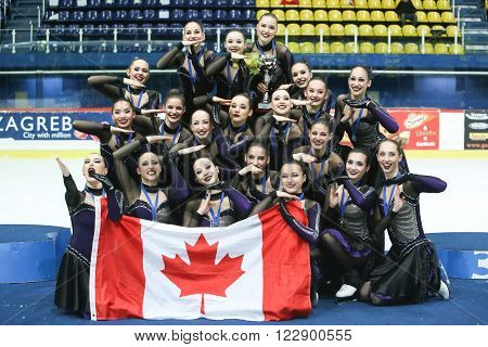 Team Canada One Ceremony Award
