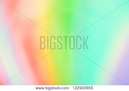 Blurry Background - Bright Spectrum of Pastel Colours