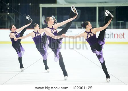 Team Canada Two Pirouette