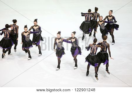 Team Canada One Performing