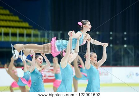 Team Czech Republic Performing
