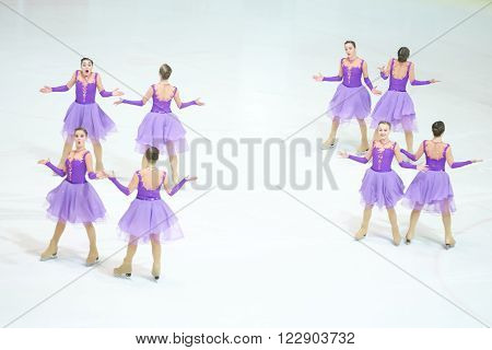 Team Russia One Performing