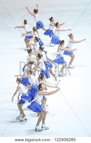 Team Zagreb Snowflakes Senior Group