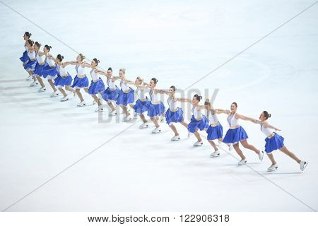 Team Zagreb Snowflakes Senior In The Line