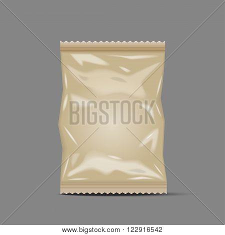 Blank Foil Food Snack Sachet Bag Packaging paper