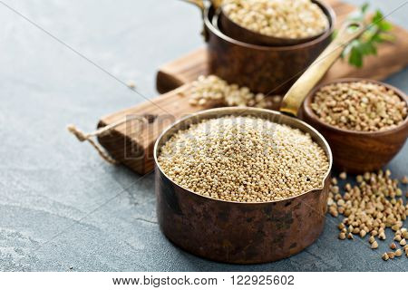 Gluten free cooking with quinoa and other grains