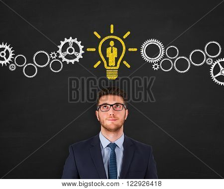 Human Resource New Idea Working Conceptual Business Concept