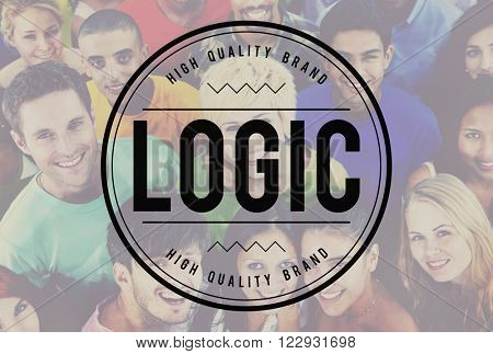 Logic Logistics Cargo Procurement Freight Concept