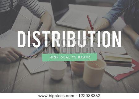 Distribution Arrangement Supplying Dealing Concept