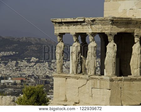 the City of Athens, the capital of greece ** Note: Visible grain at 100%, best at smaller sizes