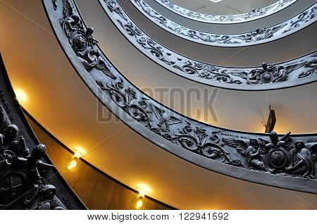 Vatican Helix Staircase