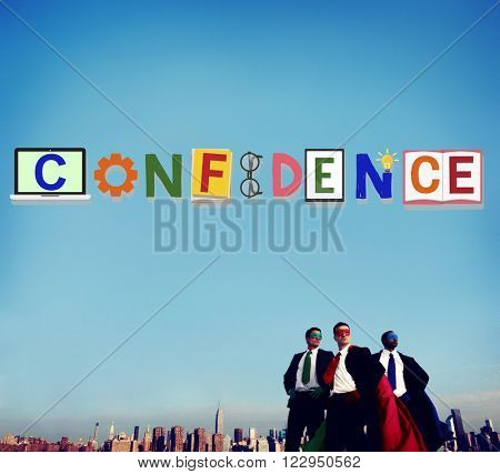 Confidence Conviction Belief Faith Reliability Trust Concept