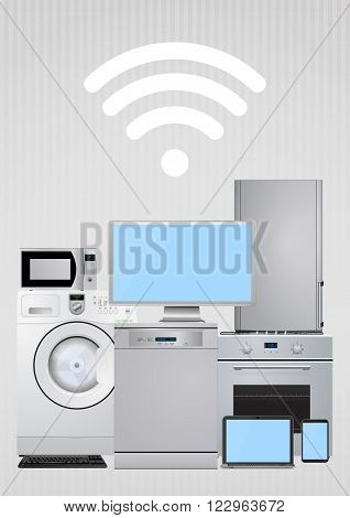 Connected Electric Appliances