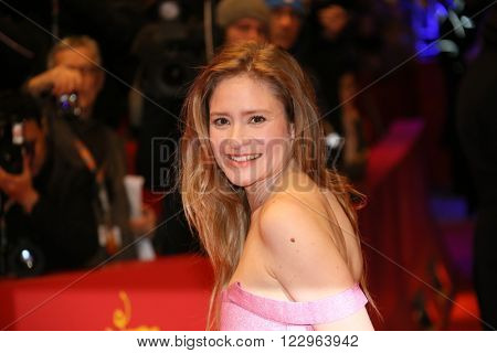 Julia Jentsch attends the closing ceremony of the 66th Berlinale International Film Festival on February 20, 2016 in Berlin, Germany.