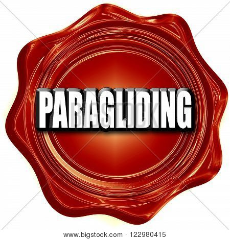 paragliding sign background with some soft smooth lines