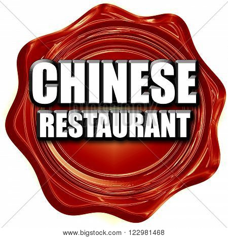 Delicious chines restaurant with some smooth lines