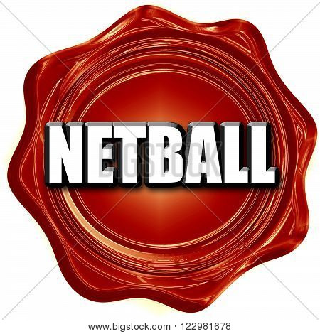 netball sign background with some soft smooth lines