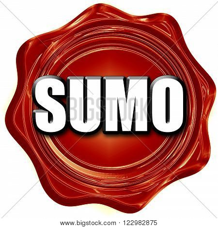 sumo sign background with some soft smooth lines