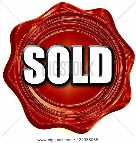 sold sign background with some soft smooth lines