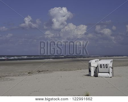 the beach of the Island of spiekeroog ** Note: Visible grain at 100%, best at smaller sizes