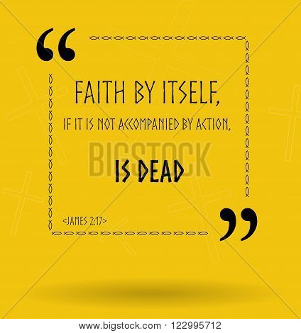 Best Bible quotes about Christian faith. Christian sayings for Bible study flashcards illustration