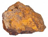 Постер, плакат: Piece Of Limonite iron Ore Mineral Stone