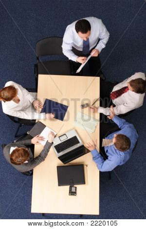 Presentation, Five People