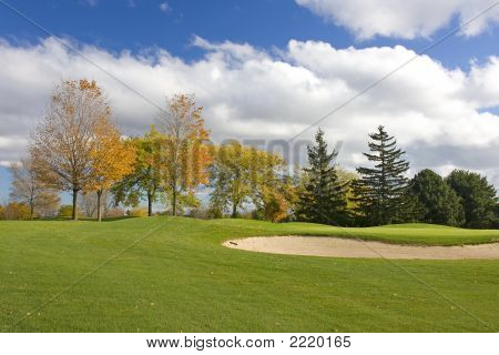 Cor de outono Golf
