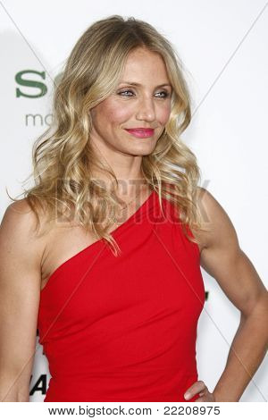 LOS ANGELES, CA - JAN 10: Cameron Diaz at the premiere of 'The Green Hornet' at Grauman's Chinese Theater in Los Angeles, California on January 10, 2011