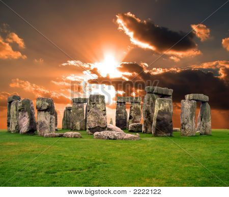 The Stonehenge In Uk