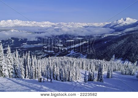 Whistler-Blackcomb Mountains Site Of The 2010 Winter Olympics