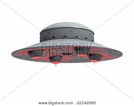 Red Glowing Ufo