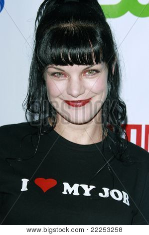 LOS ANGELES, CA - JUL 18: Pauley Perrette at the CBS CW Showtime Press Tour Stars party in Los Angeles, California on July 18, 2008