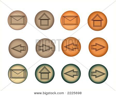 Button Set Isolated