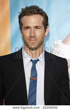 LOS ANGELES - AUG 1: Ryan Reynolds at the premiere of Universal Pictures' 'The Change-Up' held at the Regency Village Theater on August 1, 2011 in Los Angeles, California