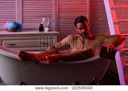 Sex And Relaxation Concept Guy