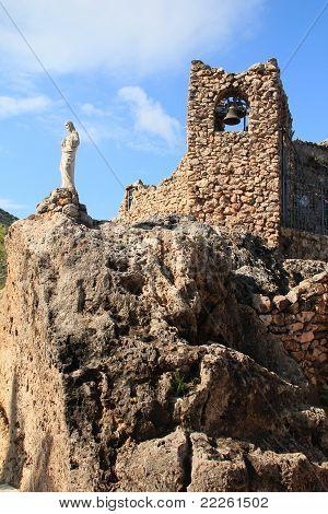 Small old church in Mijas