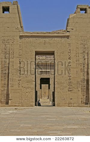 Medinat Habu Temple Entrance