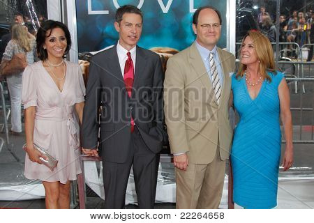 NEW YORK - JULY 19: Producers Vance DeGeneres (center left) and Charlie Hartsock (center right)attend the world premiere of