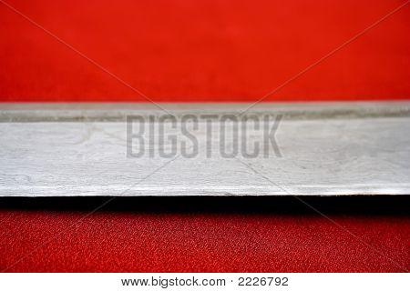 Edge Of Folded Steel