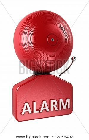 Alarm Bell Over White